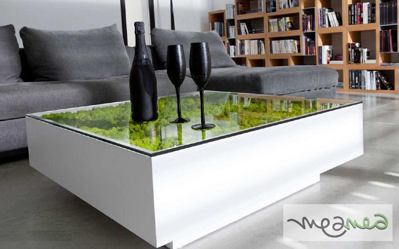 Meamea Couchtisch quadratisch Couchtische Tisch  |