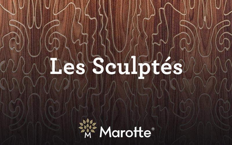 Marotte Geschnitztes Holzschild Verschiedene Ziergegenstände Dekorative Gegenstände  |