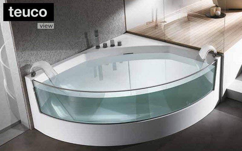 Eckbadewanne badewannen decofinder for Prix baignoire avec porte