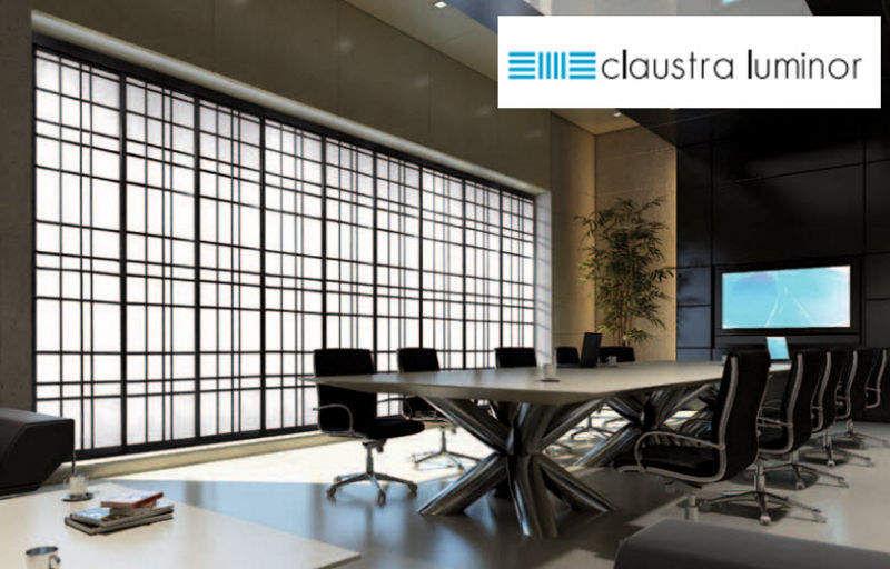 Claustra Luminor Japan-Paneel Vorhang Stoffe & Vorhänge  |