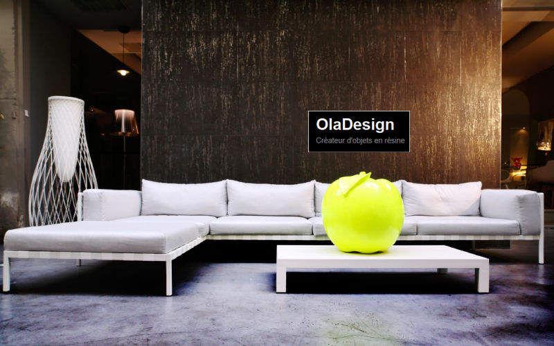Ola Design Dekorationsfrucht Dekorobst Dekorative Gegenstände Wohnzimmer-Bar | Design Modern