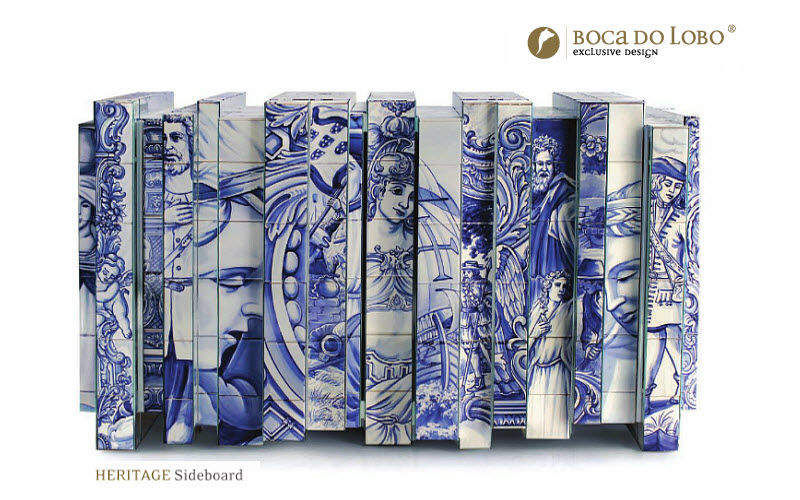 BOCA DO LOBO Anrichte Truhen Anrichten Regale & Schränke Esszimmer | Exotisch