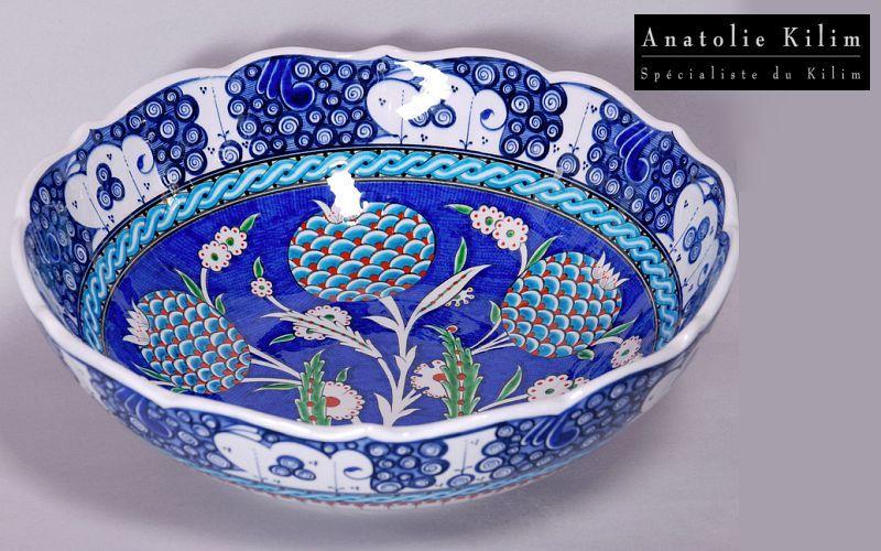 Anatolie Kilim Salatschüssel Salatschüsseln Geschirr  | Exotisch