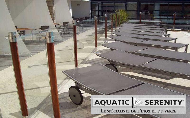 AQUATIC SERENITY Poolzaun Sicherheit Schwimmbad & Spa  |