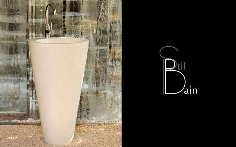 Stil Bain Waschbecken Waschbecken Bad Sanitär  |