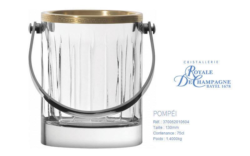 Cristallerie Royale De Champagne Eiskübel Getränkekühler Tischzubehör  |