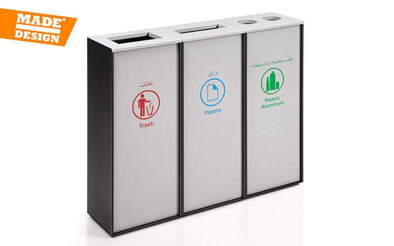Made Design Mülleimer mit Trennsystem Rund ums Spülbecken Küchenaccessoires  |