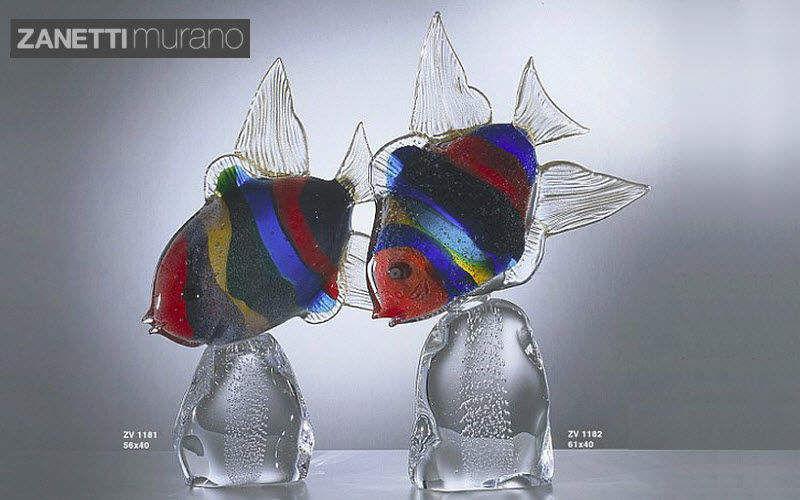 Zanetti Murano Figürchen Verschiedene Ziergegenstände Dekorative Gegenstände  |