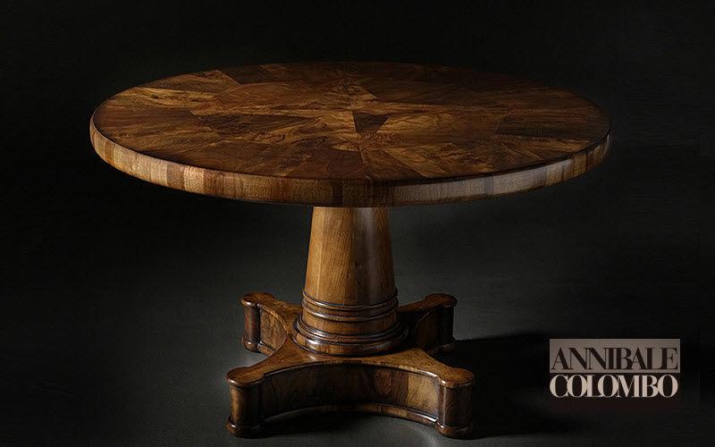 ANNIBALE COLOMBO Runder Esstisch Esstische Tisch  | Klassisch