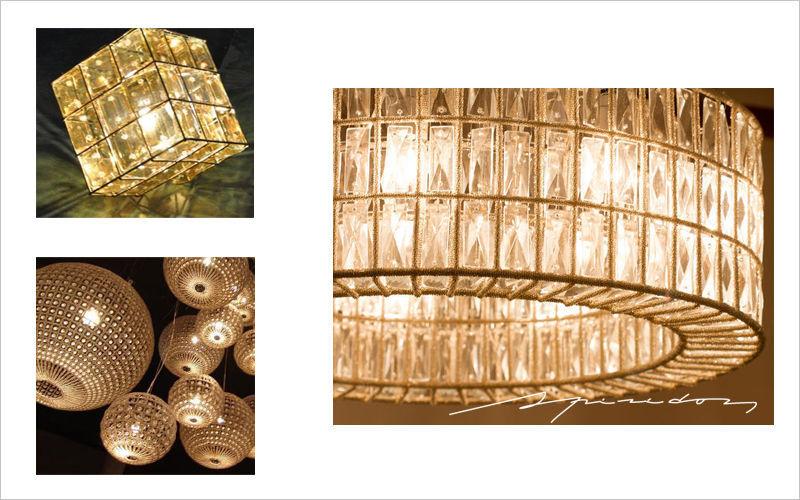 Spiridon Deckenlampe Hängelampe Kronleuchter und Hängelampen Innenbeleuchtung  |