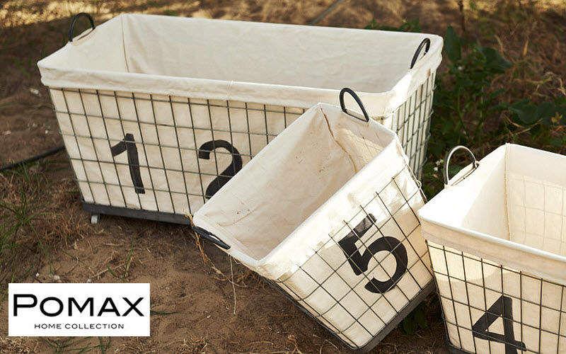 Pomax Wäschekorb Badezimmeraccessoires Bad Sanitär  |