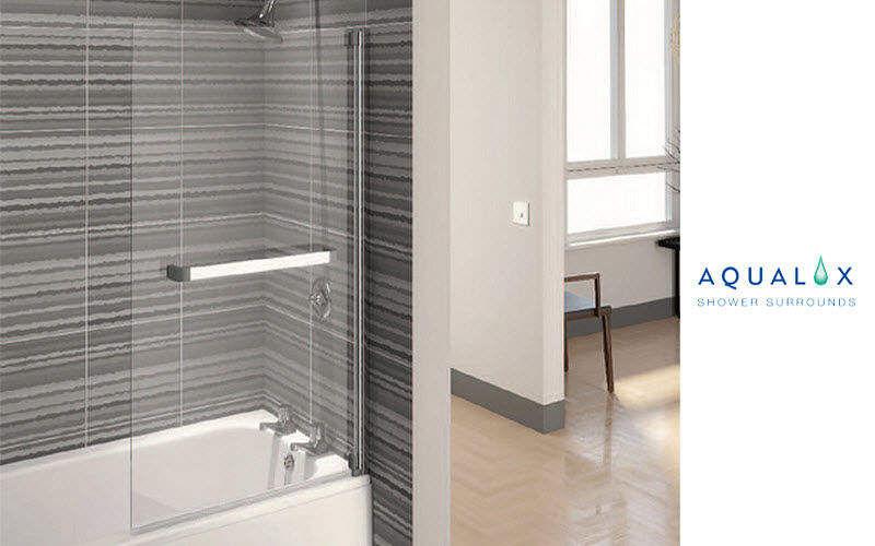Aqualux Badewannen-Trennwand Dusche & Zubehör Bad Sanitär   