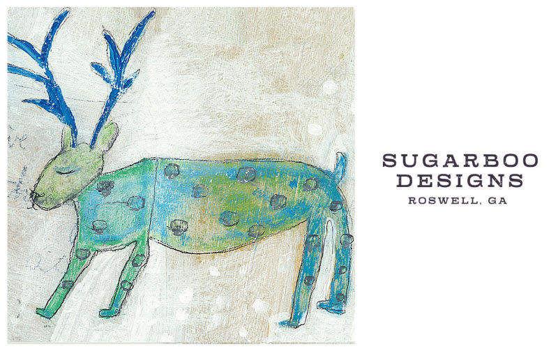 Sugarboo Designs Dekobilder Wandschmuck Verzierung   