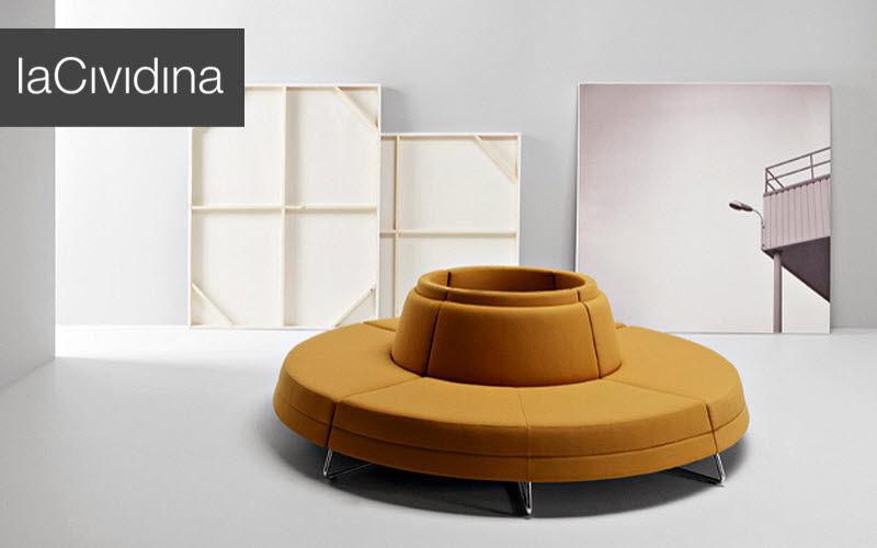 LA CIVIDINA Rundbank Sitzbänke Sitze & Sofas  |