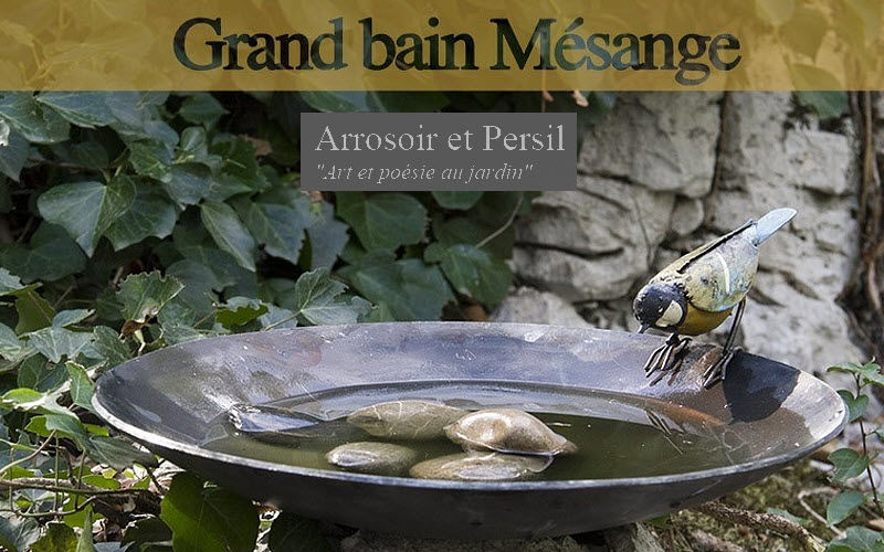 ARROSOIR ET PERSIL Vogelbad Gartenschmuck Außen Diverses  |