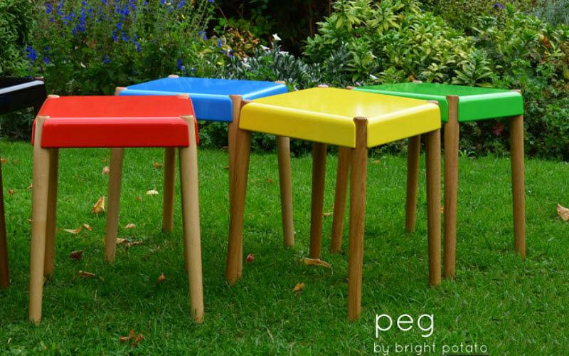 BRIGHT POTATO Hocker Schemel und Beinauflage Sitze & Sofas  |
