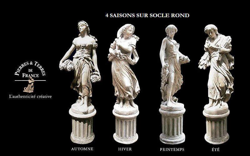 Pierres Et Terres De France Statue Figuren und Skulpturen Kunst  |