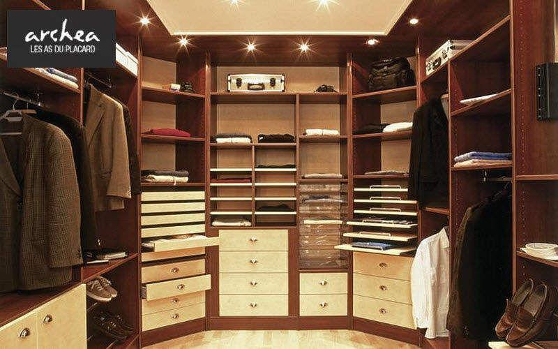 Archea Dressing in U Ankleidezimmer Garderobe  |
