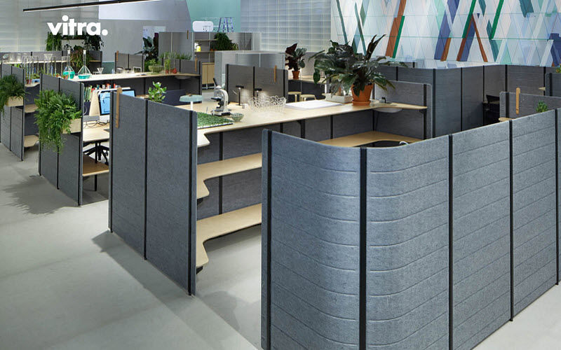 VITRA Büro Zwischenwand Trennwände Wände & Decken   