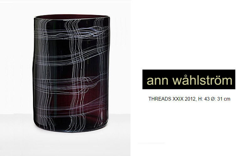 ANN WAHLSTROM Große Vase Dekorative Vase Dekorative Gegenstände  |