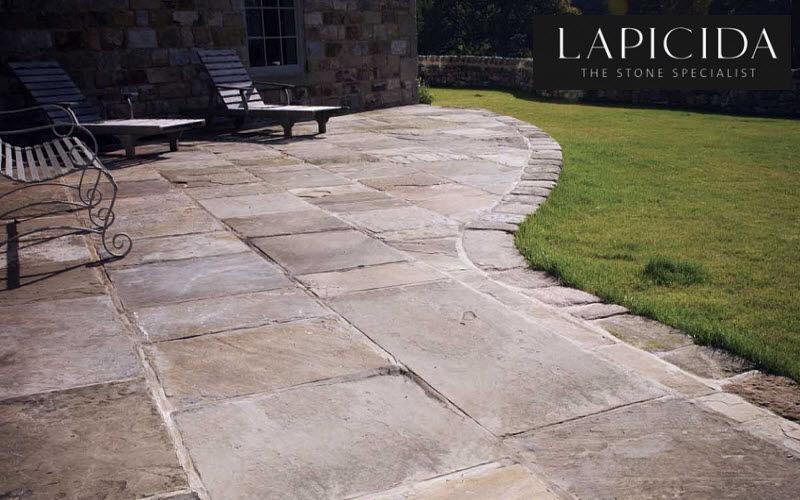 Lapicida Bodenplatten Außenbereich Außenböden Böden  |