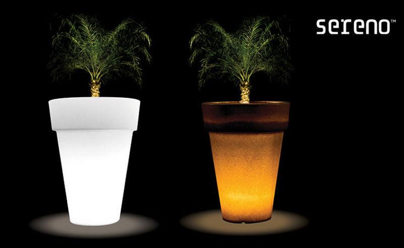 SERENO Leuchtblumentopf Bodenbeleuchtungen Außenleuchten  |
