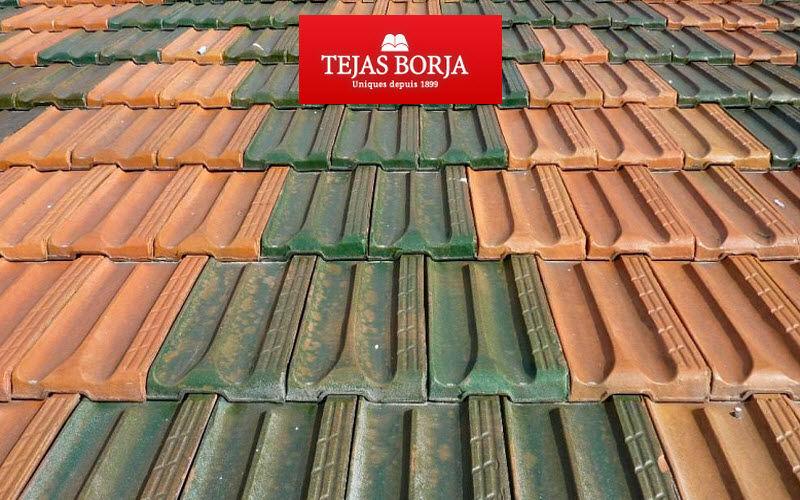 Tejas Borja Reliefziegel Fassade & Dachabdeckung Gartenhäuser, Gartentore...  |