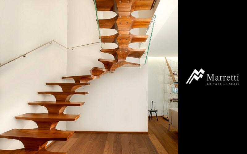 MARRETTI Zweimal viertelgewendelte Treppe Treppen, Leitern Ausstattung   