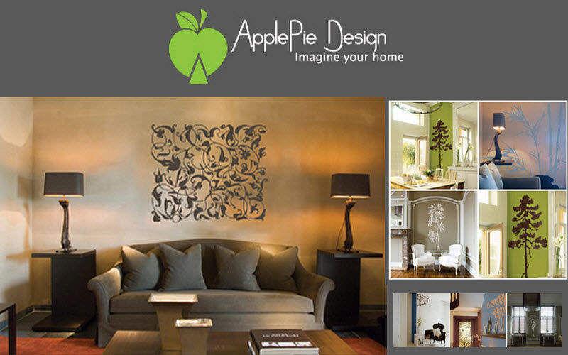 ApplePie Design Sticker Dekorativer Sticker Wände & Decken   