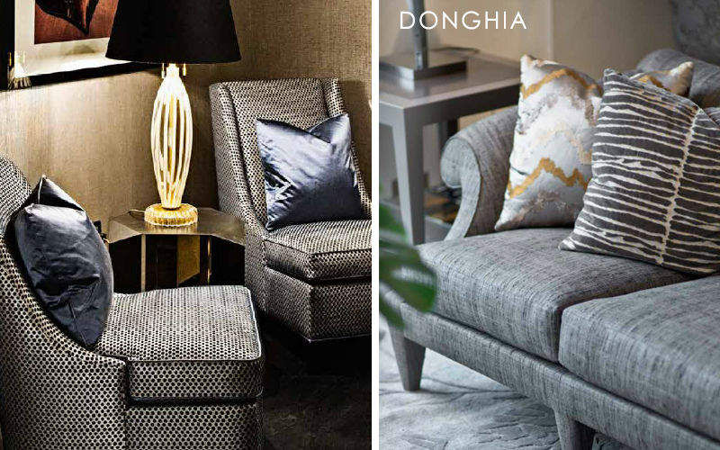 Donghia Sitzmöbel Stoff Möbelstoffe Stoffe & Vorhänge Wohnzimmer-Bar | Design Modern