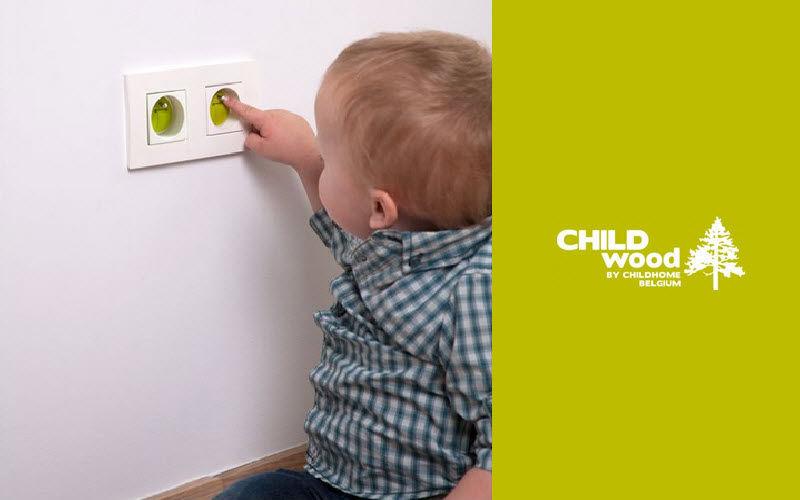CHILDHOME Steckdosenschutz Kinderleuchten Kinderecke  |