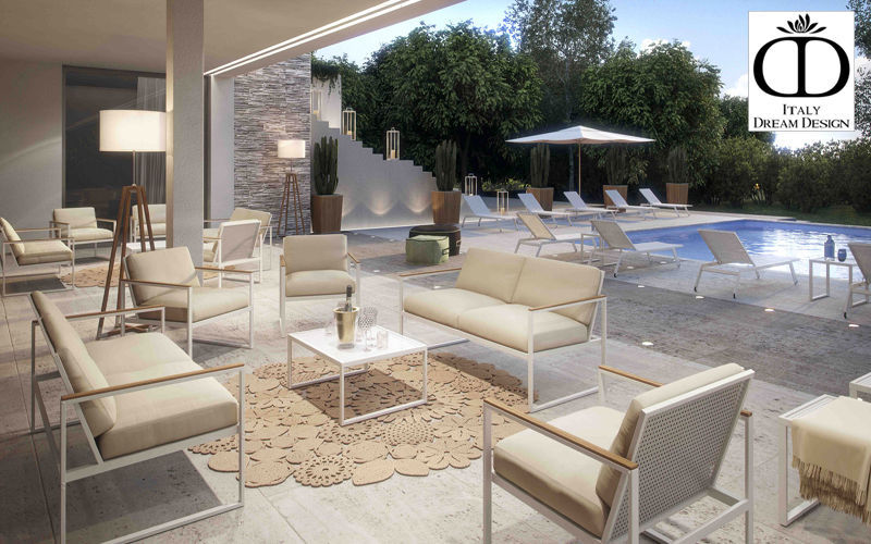 ITALY DREAM DESIGN Gartengarnitur Gartenmöbelgarnituren Gartenmöbel Terrasse | Design Modern