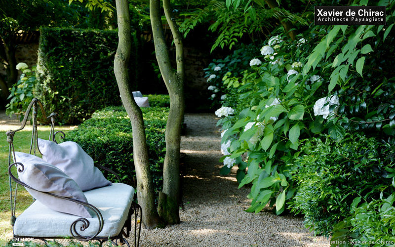 XAVIER DE CHIRAC Landschaftsgarten Gartengestaltungen Außen Diverses  |