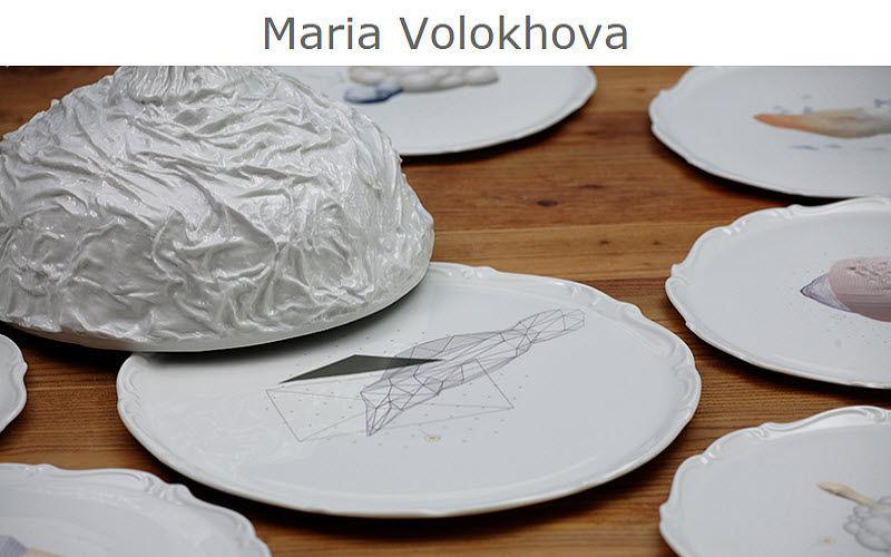 Maria VOLOKHOVA Tellerglocke Menüglocken Tischzubehör  |