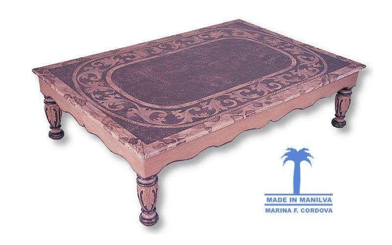 Made In Manilva Rechteckiger Couchtisch Couchtische Tisch  | Exotisch