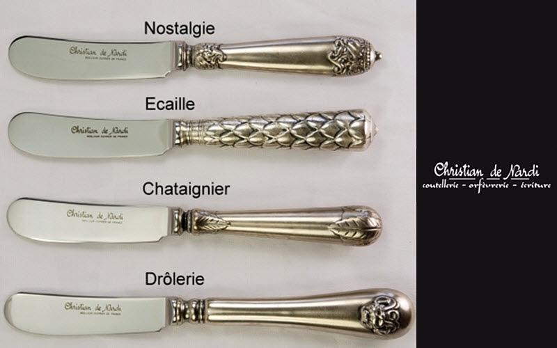Christian De Nardi Buttermesser Messer Bestecke  |
