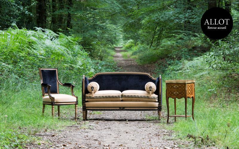 Ateliers Allot Frères Sofa 2-Sitzer Sofas Sitze & Sofas  |
