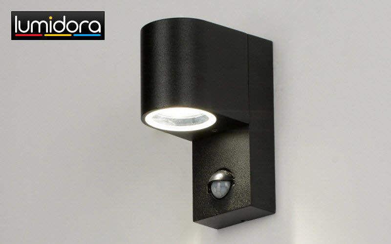 LUMIDORA Spot mit Detektor Scheinwerfer Außenleuchten  |