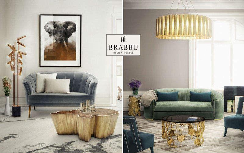 BRABBU DESIGN FORCES Sofa 2-Sitzer Sofas Sitze & Sofas Wohnzimmer-Bar   Design Modern