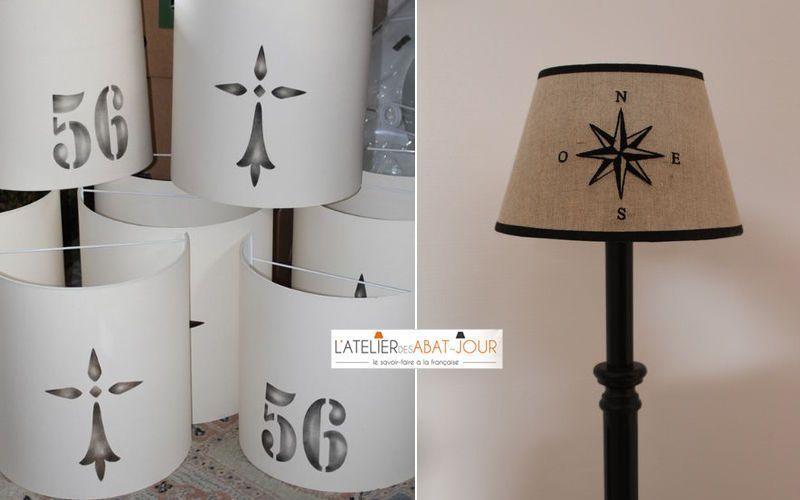 L'ATELIER DES ABAT-JOUR Lampenschirm Lampenschirmen Innenbeleuchtung  |