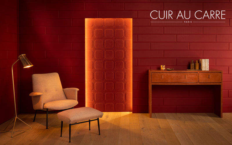 CUIR AU CARRE Lederfliese Andere Wandverkleidungen Wände & Decken  |