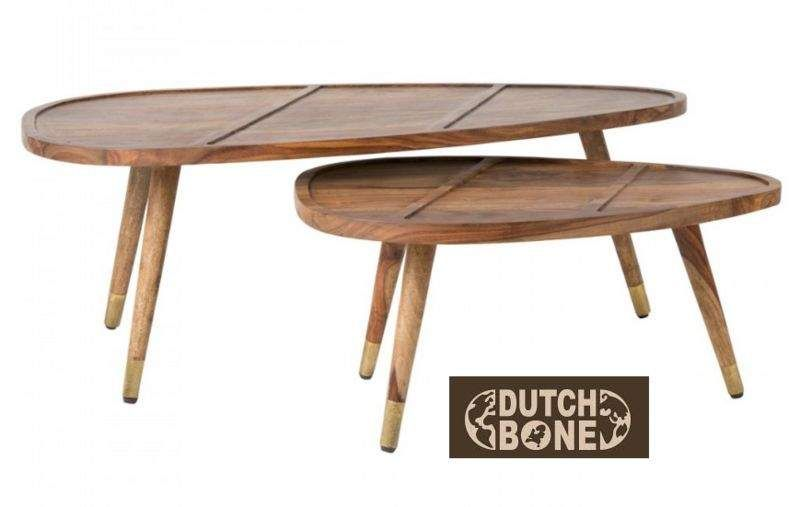 DUTCHBONE Tischsatz Beistelltisch Tisch  |