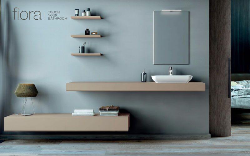 FIORA WC Waschtisch Badezimmermöbel Bad Sanitär  |