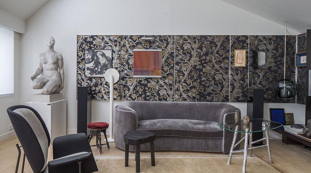 TRISTAN AUER Innenarchitektenprojekt - Wohnzimmer Verschiedenes Sitzmöbel Polstermöbel Sitze & Sofas  |