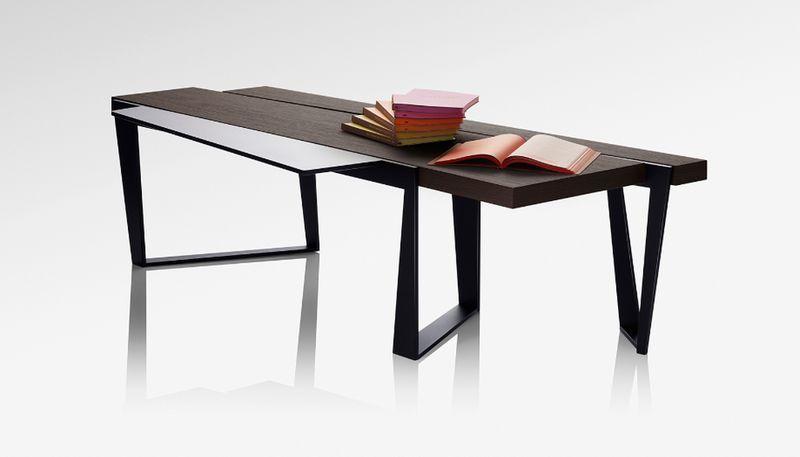 LOSSERAND SIGNATURE Rechteckiger Couchtisch Couchtische Tisch  |