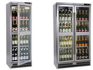Serva Clean Kühlschrank mit Glastür