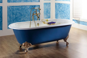 BLEU PROVENCE - vintage - Badewanne Auf Füßen