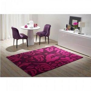 LUSOTUFO - tapis contemporain flocatto prune - Moderner Teppich