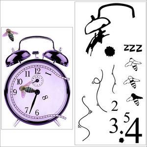 ALFRED CREATION - sticker réveil - Gummiertes Papier
