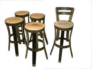 Douelledereve - mobilier de cave à vin , chaise feuillette - Barstuhl